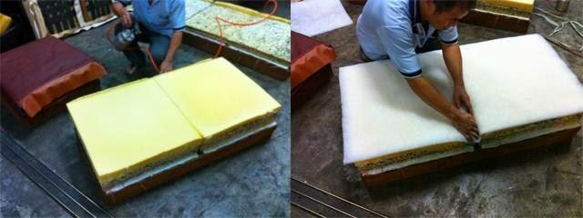 沙發木頭修理