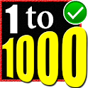 Learn 1 to 1000 Numbers icon