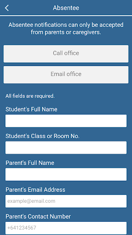android Victoria Avenue School Screenshot 2