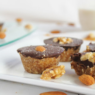 Peanut Butter Coconut Cups With Dark Chocolate