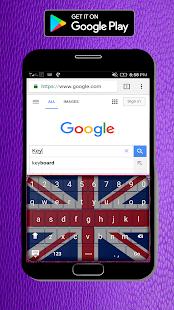 [Union Jack Flag Keyboard 2018] Screenshot 1