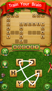 Word Cross Connect : English CrossWord Search Game 4