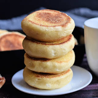 Quick and Soft English Muffins.