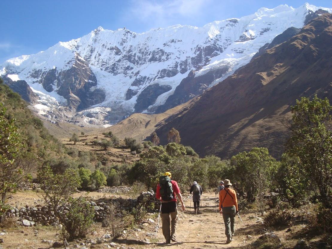 Trilha Inca de Salcantay