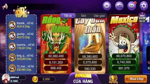 Game danh bai doi thuong - Club Online 2019 1.0 screenshots 2