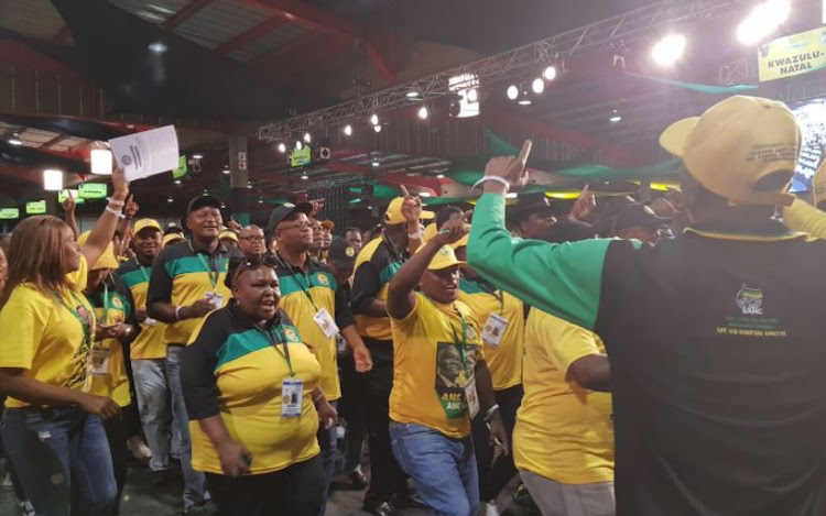 The ANC negotiated for delegates to be served dinner at their hotels at an additional cost.