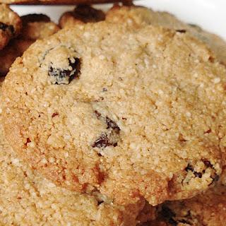 Grain Free Raisin Cookies GF SCD