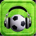 Radio de Fútbol en vivo Gratis icon