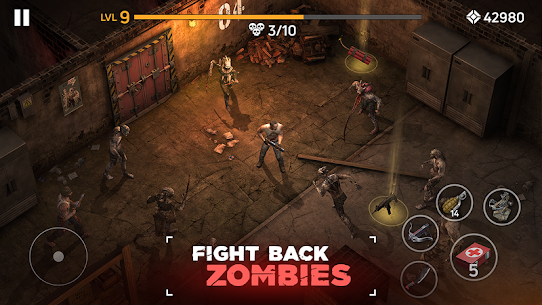 Zombie Arena: Fury Shooter Online MOD (Immortality/High Damage) 1
