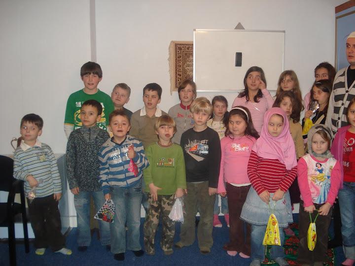 Bosnjacka djeca na islamskoj pouci u Amsterdam-u