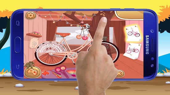 Princess Bike Games - Girls Games - náhled