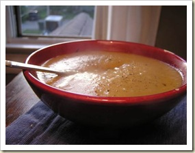Peppery Potato Soup