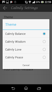 Calmly writing v1.8