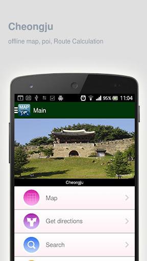 Cheongju Map offline