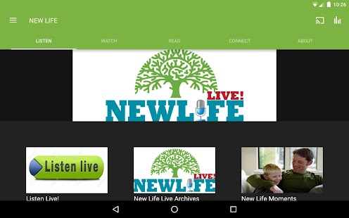 NEW LIFE MINISTRIES APP- screenshot thumbnail