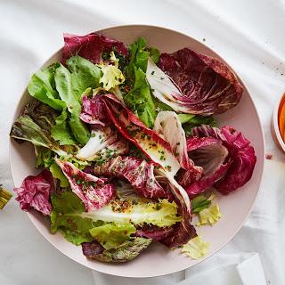 Chicory Salad with Honey-Mustard Vinaigrette Recipe