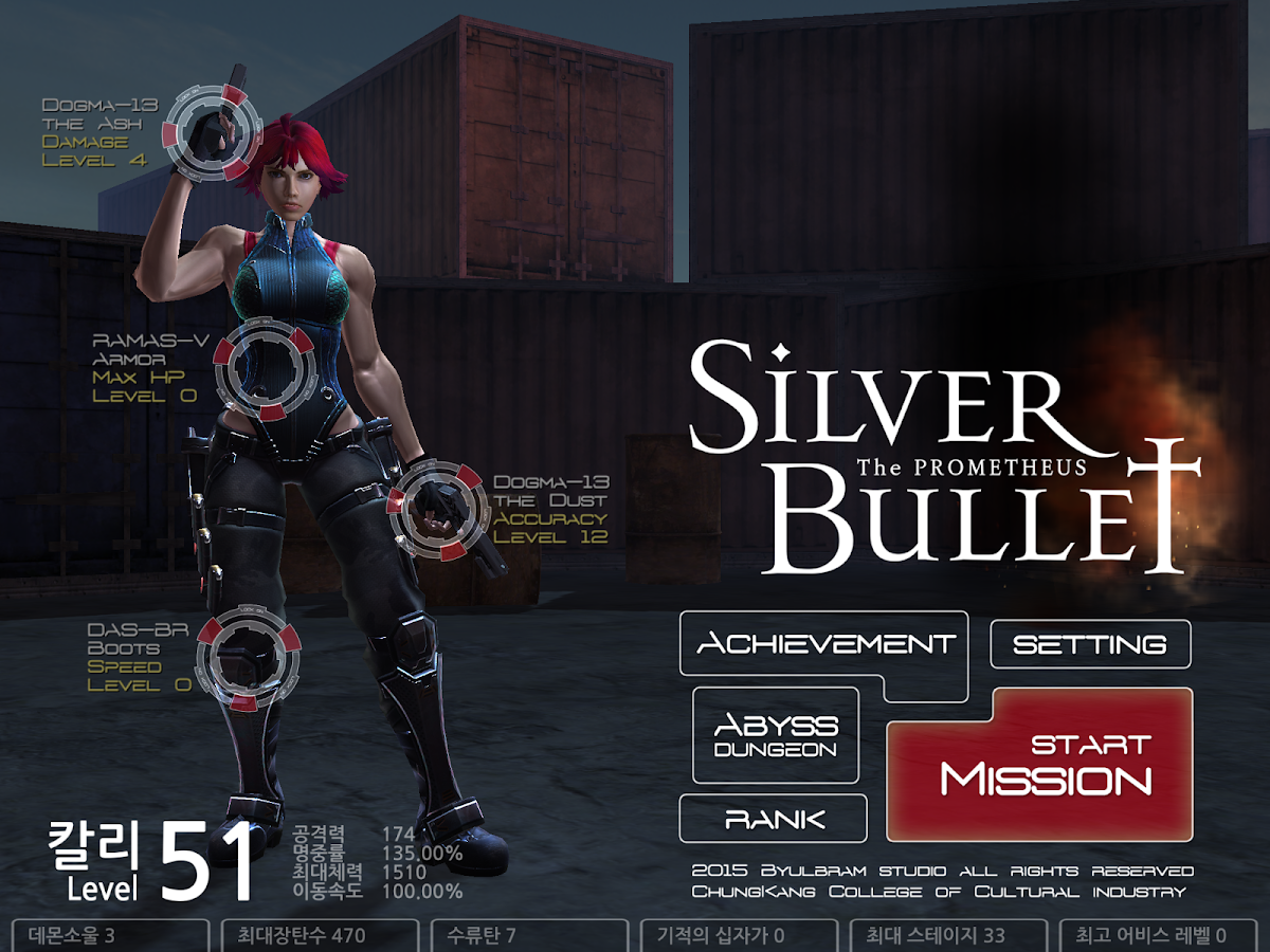 the SilverBullet: captura de pantalla