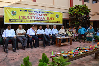 Photo: Felicitate programme of Bjem School