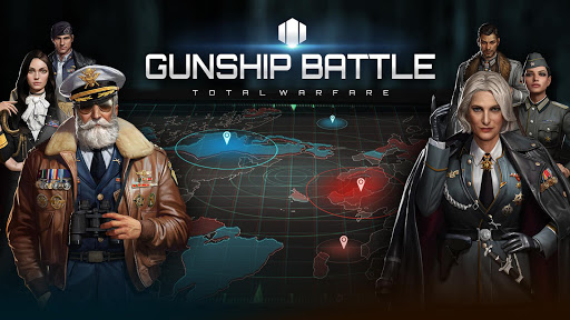 Gunship Battle Total Warfare  captures d'u00e9cran 1