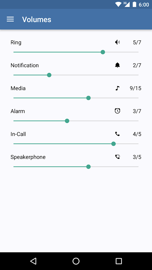 Volume Butler- screenshot