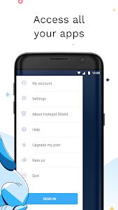 Hotspot Shield Free VPN Proxy & Wi-Fi Security 6.3.0 b63010 (Paid)