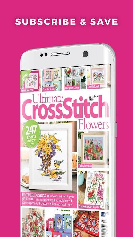 Ultimate Cross Stitch Magazine - Stitching Pattern  poster 3