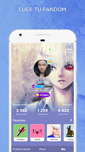 App Anime y Manga Amino para Otakus en Español APK for Windows Phone