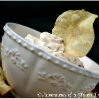Gluten-Free Vegan French Onion Dip, Football Party Food (and a few giveaway winners).