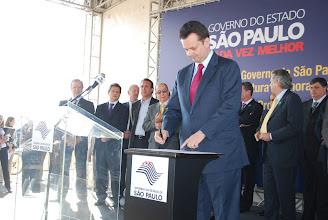 Photo: Prefeito Gilberto Kassab assina convênio para implementação do Parque Tecnológico.