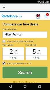 Nice Car Rental, France - náhled