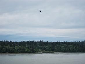 Photo: Floatplane landing