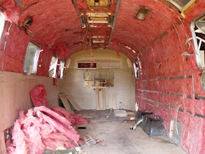 Photo: Starting to remove the interior panels