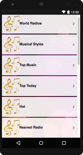 Radio FM AM Free Stations 1.3 screenshots 2