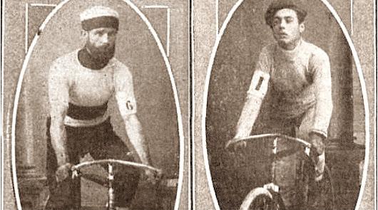 José Hernández y Elías Coderque, el duelo de dos ciclistas