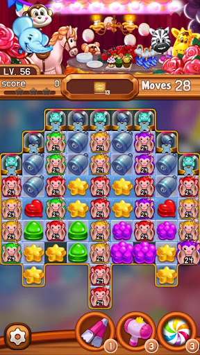 Candy Amuse: Match-3 puzzle android2mod screenshots 5