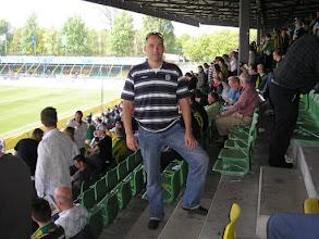 Photo: Vereeuwigd in het Zuiderpark stadion.