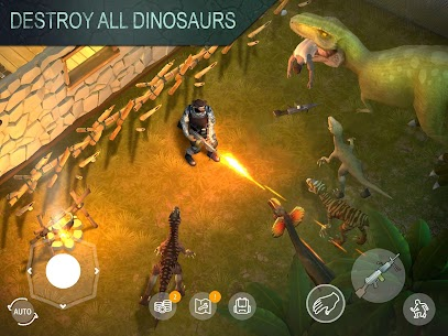 JURASSIC SURVIVAL MOD APK V2.7.0 (MOD MENU,MONEY/CRAFT/SPLIT) 3