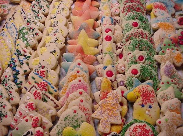 Grammy Peg's Christmas Cookies Recipe