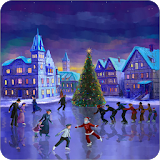 Christmas Rink Live Wallpaper file APK Free for PC, smart TV Download