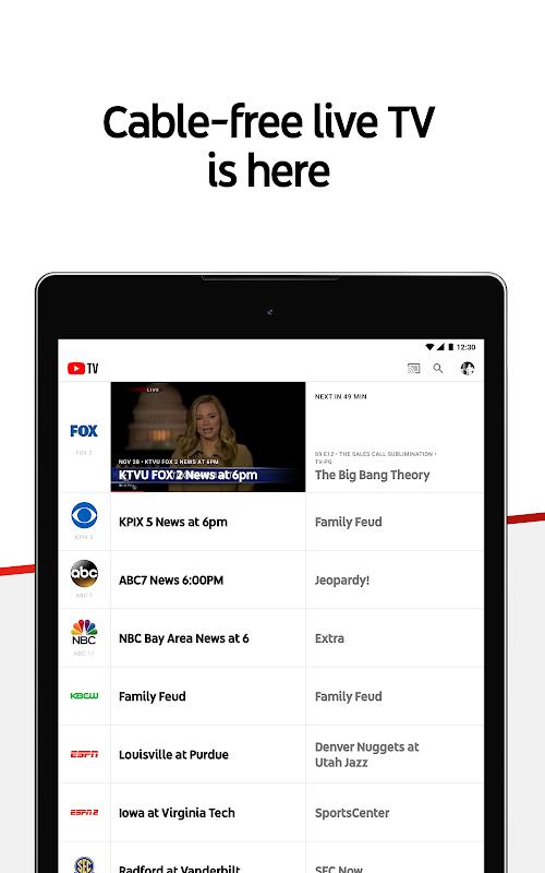 YouTube TV - Watch & Record Live TV screenshots