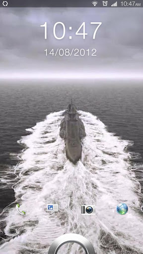 Submarine Surfacing 3D LWP