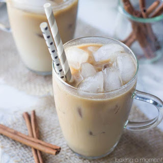 Coconut Horchata Iced Coffee.