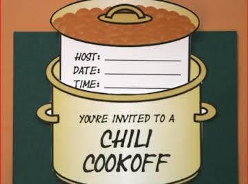 Karla's Slow Cooker Chili