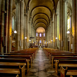 Valence,Cathedral by Stanley P. - Buildings & Architecture Places of Worship