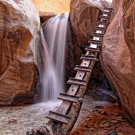 Kanarraville Falls  by Gosha L - Landscapes Waterscapes ( utah, nature, waterfall,  )