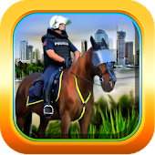 Horse: Police Chase