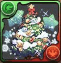 パズドラクリスマスツリー