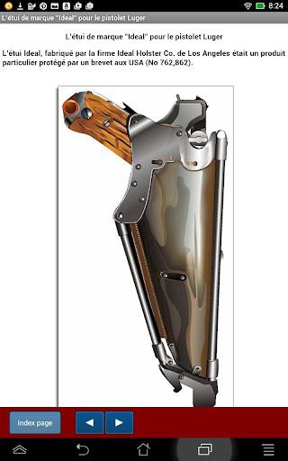 Accessoires du pistolet Luger