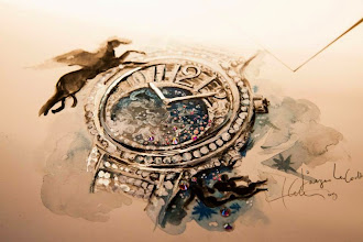 Photo: The Rendez-Vous Celestial watch through the eyes of Katie Rodgers, Paper Fashion: http://bit.ly/1jhOUCd
