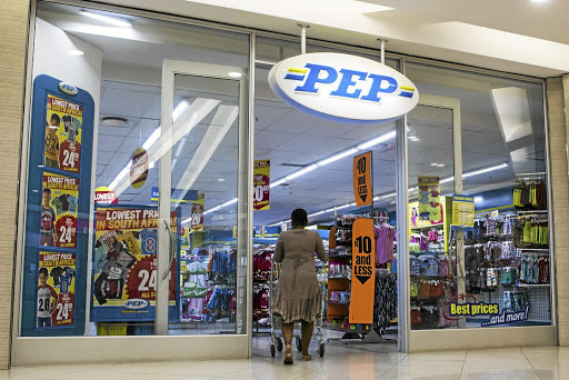 A Pep store in Balfour Shopping Mall, Johannesburg. Picture: WALDO SWIEGERS